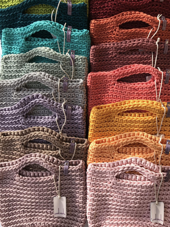 Tote Bag skandinavischen Stil häkeln Tasche handgemachte   Etsy