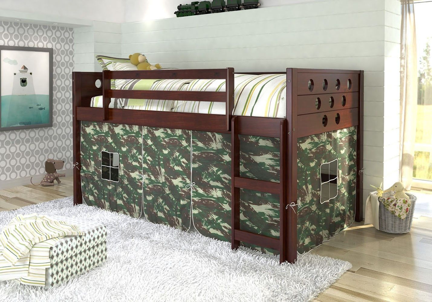 Low Loft Beds Bunk