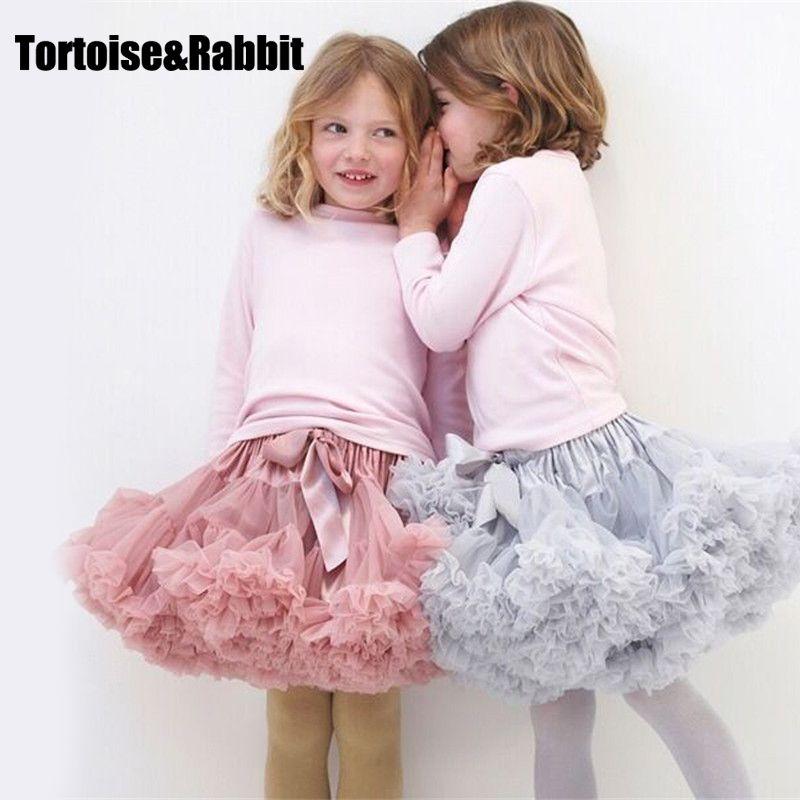 9efe7adf8 Cool New Baby Girls Tutu Skirt Ballerina Pettiskirt Layer Fluffy Children Ballet  Skirts For Party Dance Princess Girl Tulle Miniskirt - $ - Buy it Now!