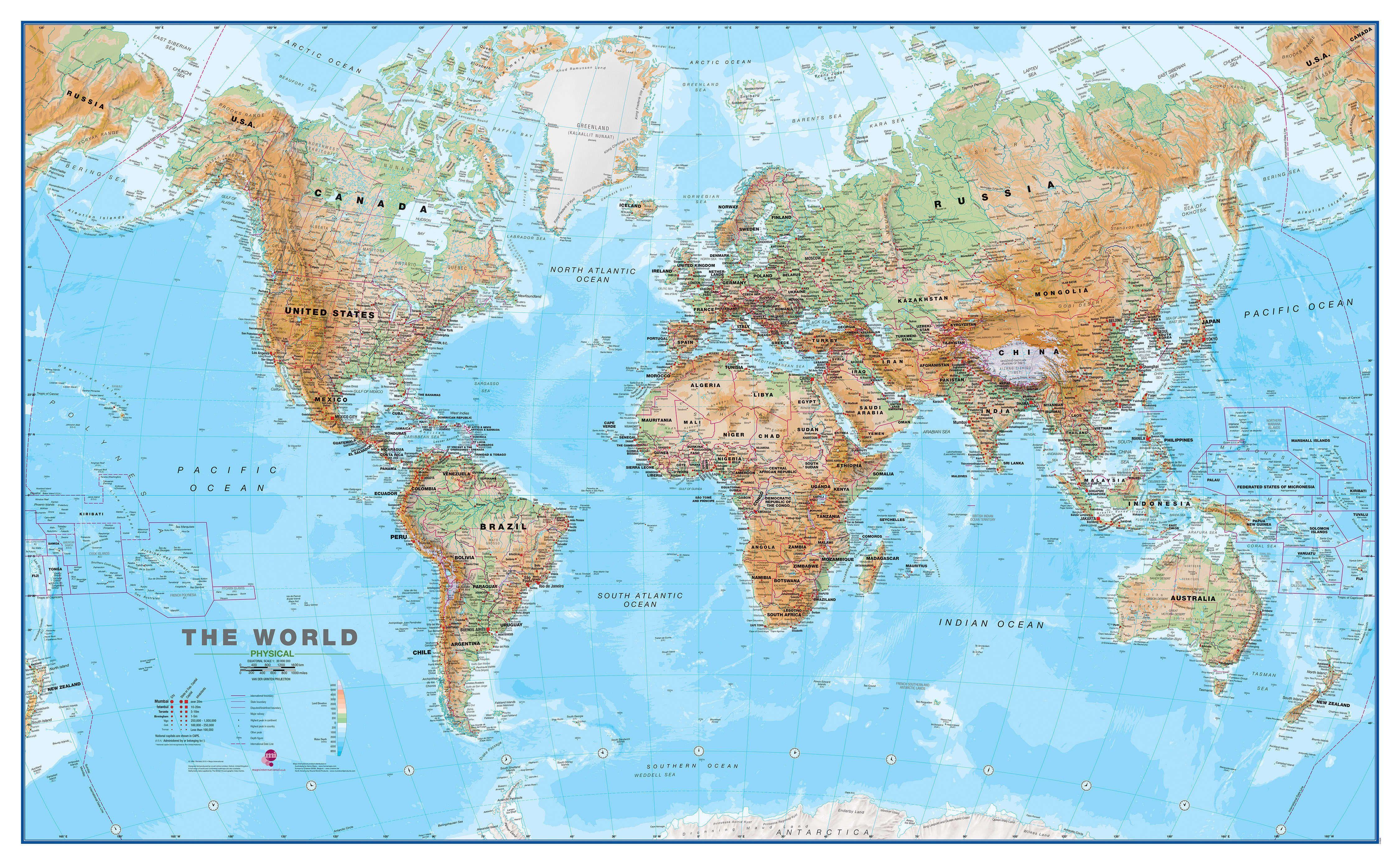 Cartina Mondiale Fisica.Gerelateerde Afbeelding Mappa Del Mondo Carta Da Parati Mappa