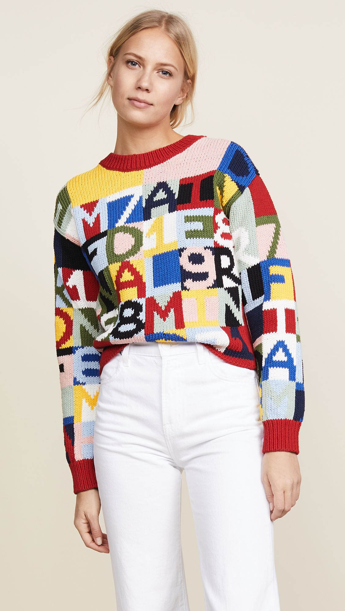 Frame Letter Sweater Sweaters, Sweaters online, Framed
