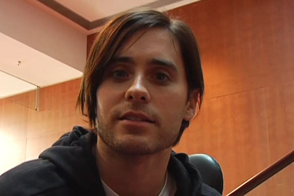 Jared - Edge Of The Earth screencap. So handsome <3