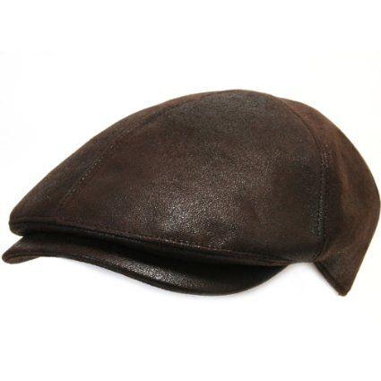 Amazon.com  ililily New Men¡¯s Flat Cap Vintage Cabbie Hat Gatsby Ivy Caps  Irish Hunting Hats Newsboy with Stretch fit - 001-3 Dark Brown  Clothing ea78eb1a2fa7