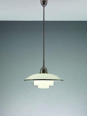 Original Bauhaus Sistrah TITAN CF Otto Mueller 1931 Ceiling Lamp