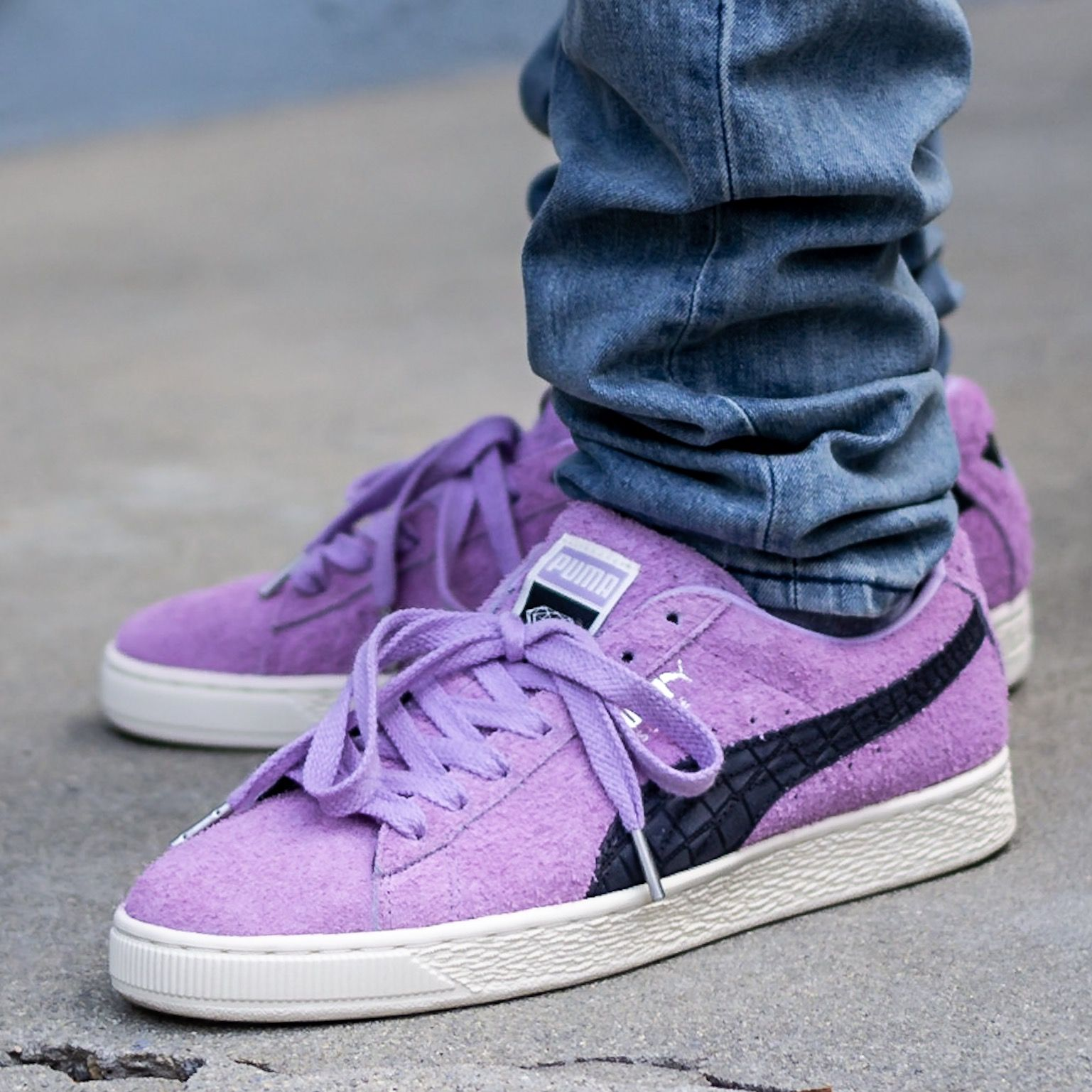 Diamond Supply Co X Puma Suede Orchid Bloom Sneaker Review Puma
