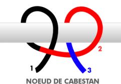 Noeud De Cabestan Bateau Noeud Cabestan Noeud