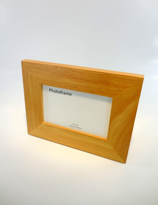 Hardwood Frame Natural Wood Frame Wood Picture Frame High Quality Frame 4x6 Picture Frame Rustic Photo Frame Solid Wood Frame Custom