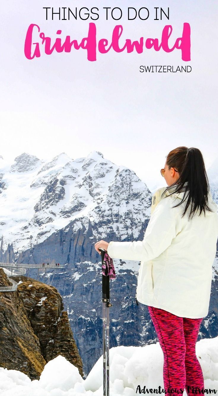 in Grindelwald (Switzerland) Grindelwald in Switzerland is one of those places you can visit all year round. In the winter there are lots of snow and winter activities while summertime is perfect for hiking. These are just some of the many fun things to do in Grindelwald and First.Grindelwald in Switzerland is one of those pla...do in