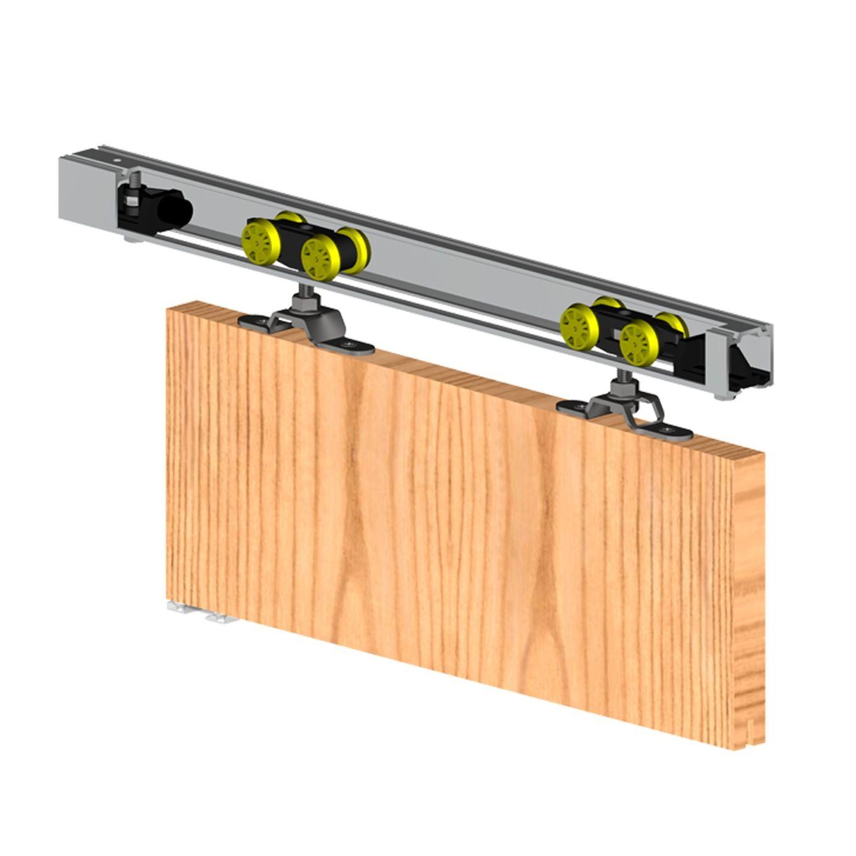 rail pour porte coulissante porte coulissante placard miroir fenetre