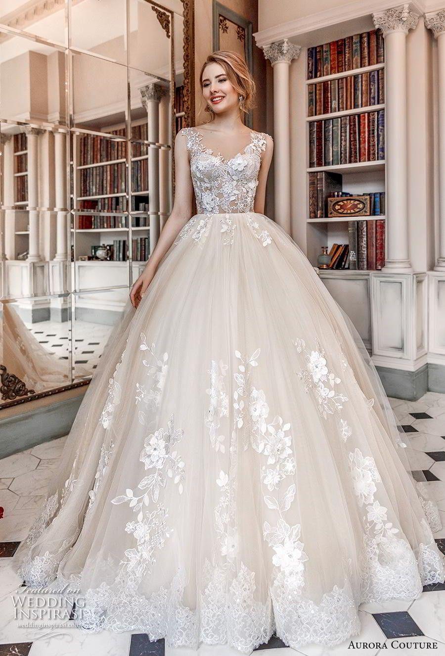 Aurora Couture 12 Brautkleider  Ballkleid hochzeit, Cinderella