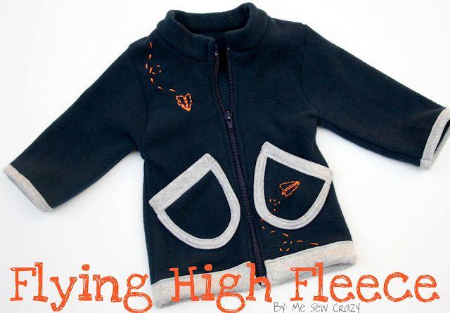 fleece jacket tutorial