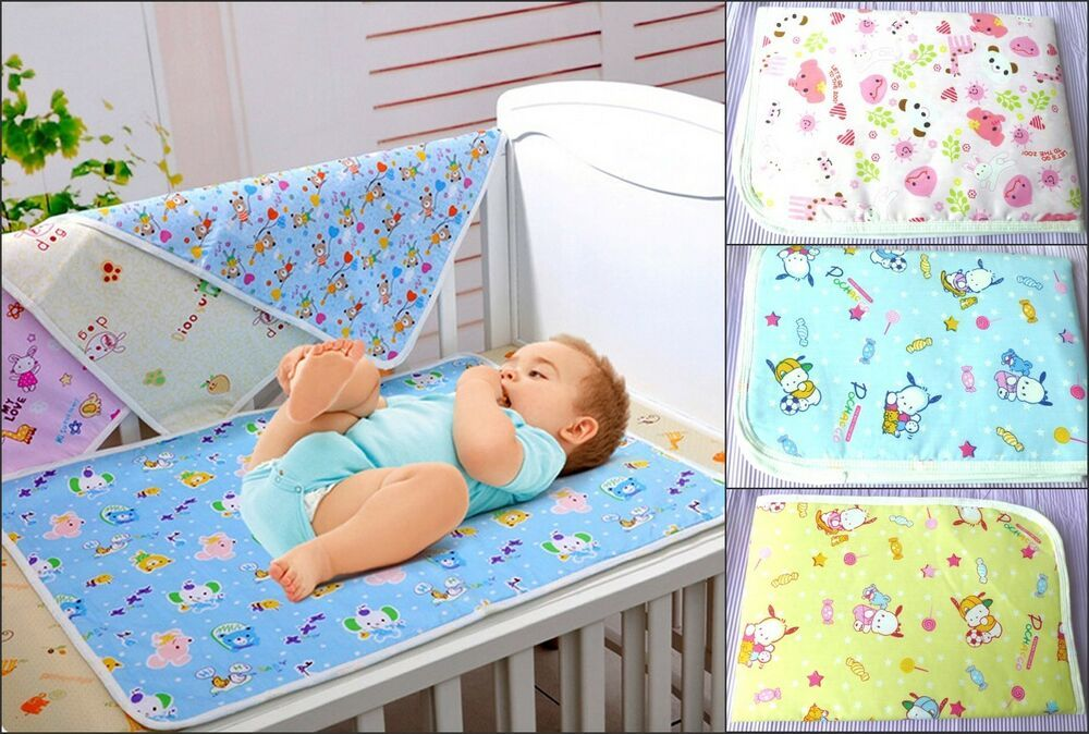 Waterproof Changing Pad Diapering Sheet Protector for Baby