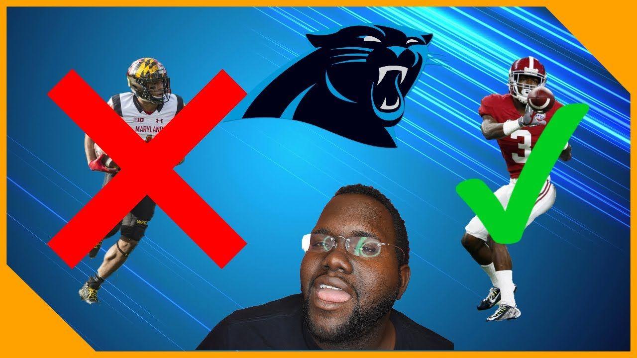 The Carolina Panthers Went To Dj Moore Pro Day Calvin Ridley Falls To Carolina Panthers Panthers Carolina