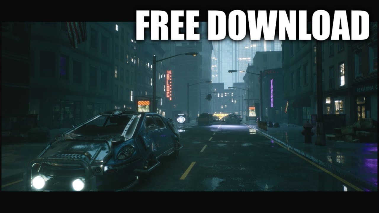 City 16 (Free Download / Speed Level Design / Unreal Engine