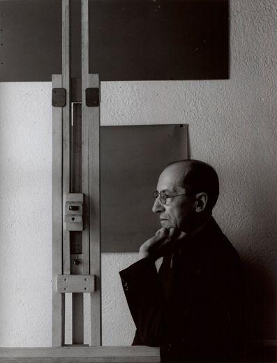 Piet Mondriaan, 1942 (Arnold Newman)