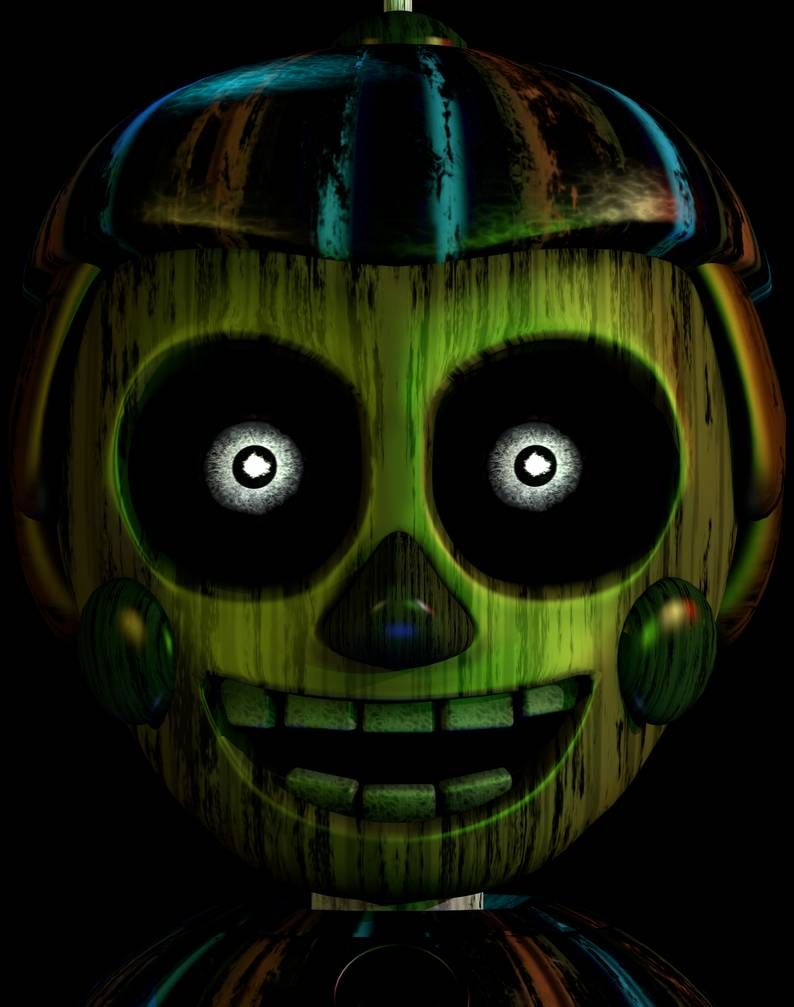 P Bb Ultimate Custom Night Mugshot Recreation By Andypurro With