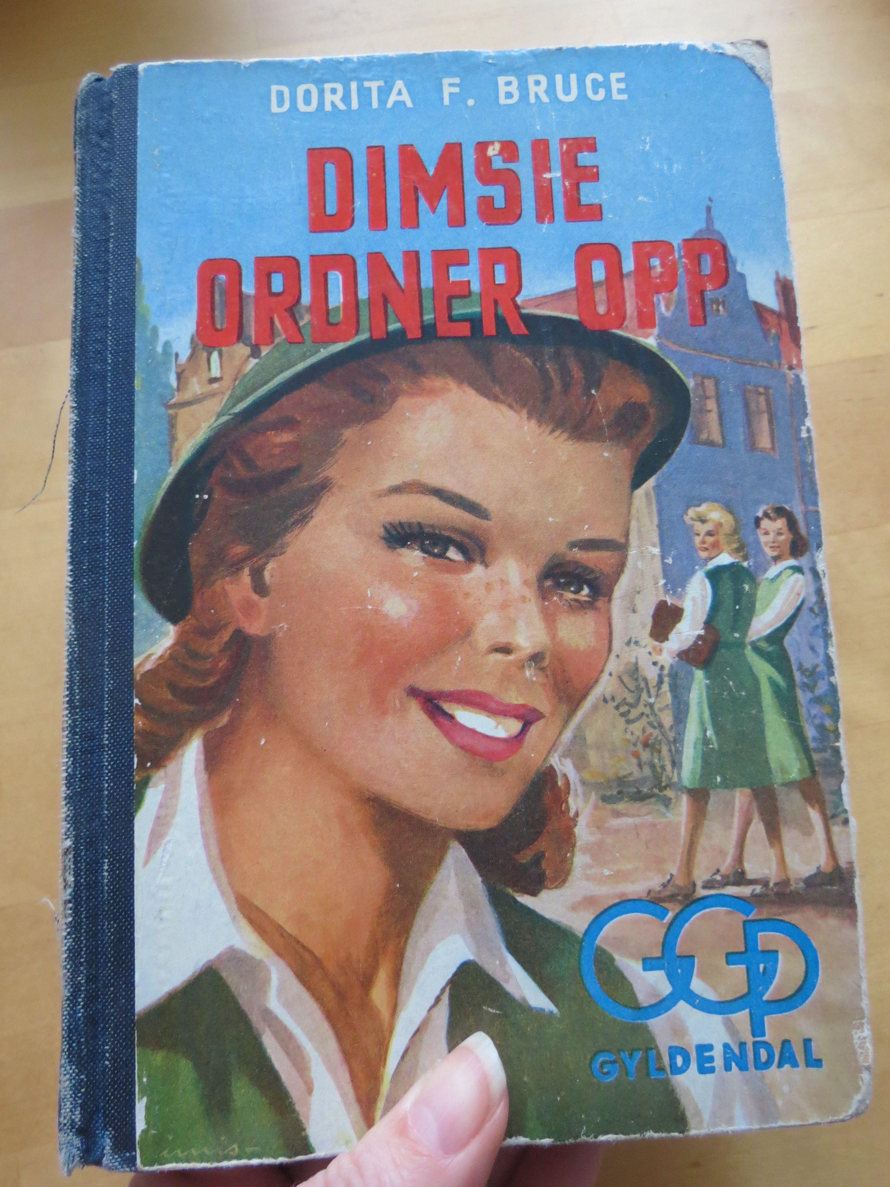 """Dorita F Bruce - """"Dimsie ordner opp"""""""