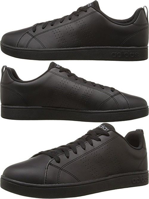 official photos 69cb5 8b662 Adidas NEO Mens Advantage Clean VS Fashion Sneaker, BlackBlackLead, 11.5  M US  Adidas  Pinterest