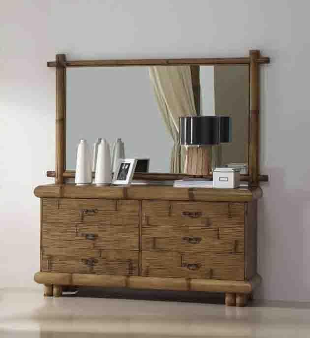 wandspiegel jimbaran aus bambus ihr online shop f r. Black Bedroom Furniture Sets. Home Design Ideas