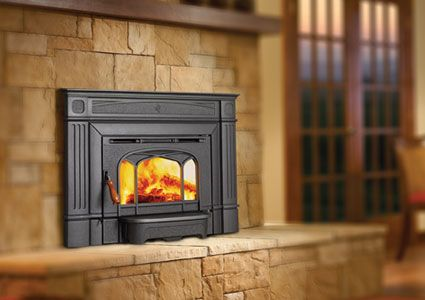 Love This Pellet Stove Insert Pellet Stove Fireplace Inserts
