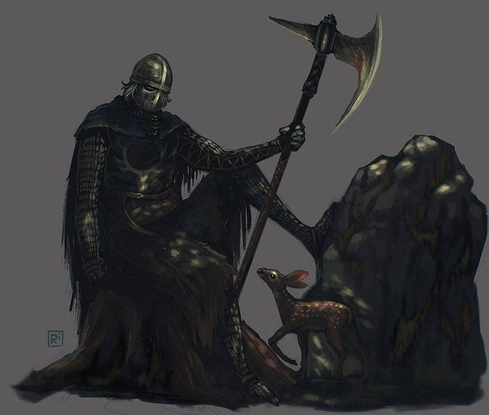 Creighton The Wanderer By Rirth On Deviantart Dark Souls Art