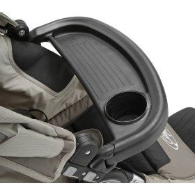 Baby Jogger Child Tray.  Product Features  Features a convenient cup holder   Durable easy to clean surface   Comfortable and smooth ride for your child   Compatible with the City Mini, City Classic, City Elite and Summit 360 strollers.  http://www.designerstrollers.org