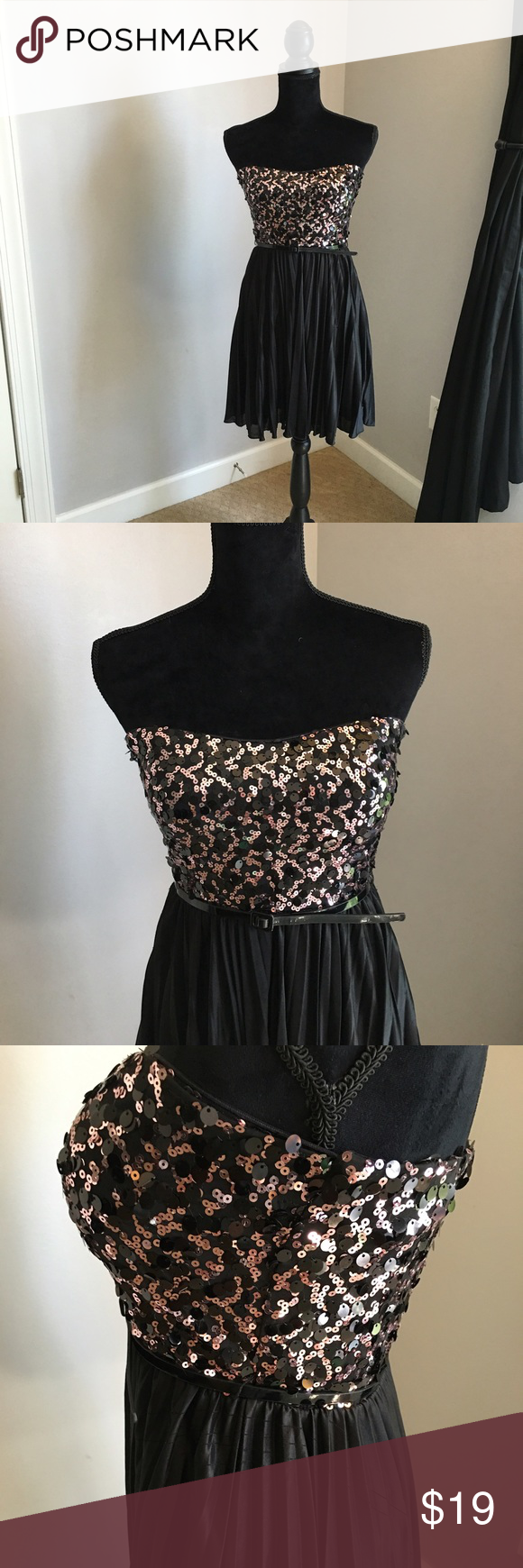 Black and rose gold promhomecoming dress rose gold party dress