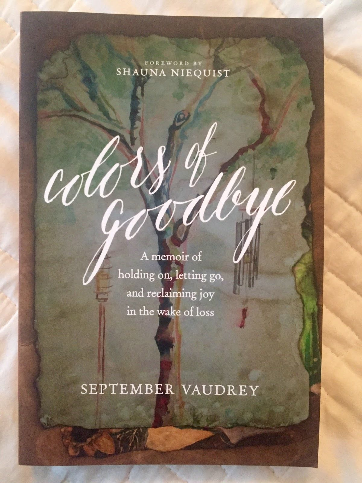Colors Of Goodbye A Memoir Of Holding On Letting Go And