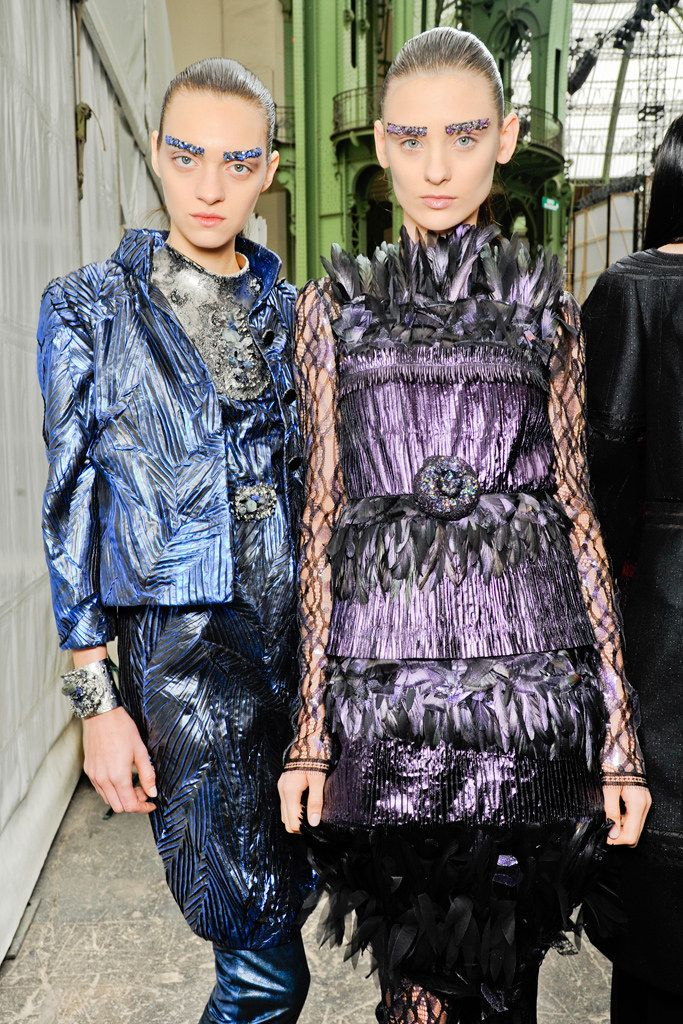 Chanel Fall 2012 Ready-to-Wear Beauty Photos - Vogue