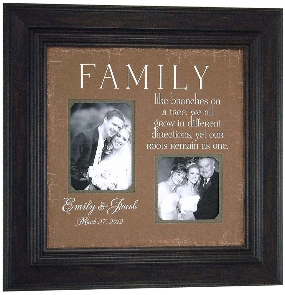 Personalized Wedding Gift for Parents $89.00, via Etsy. | WEDDING ...