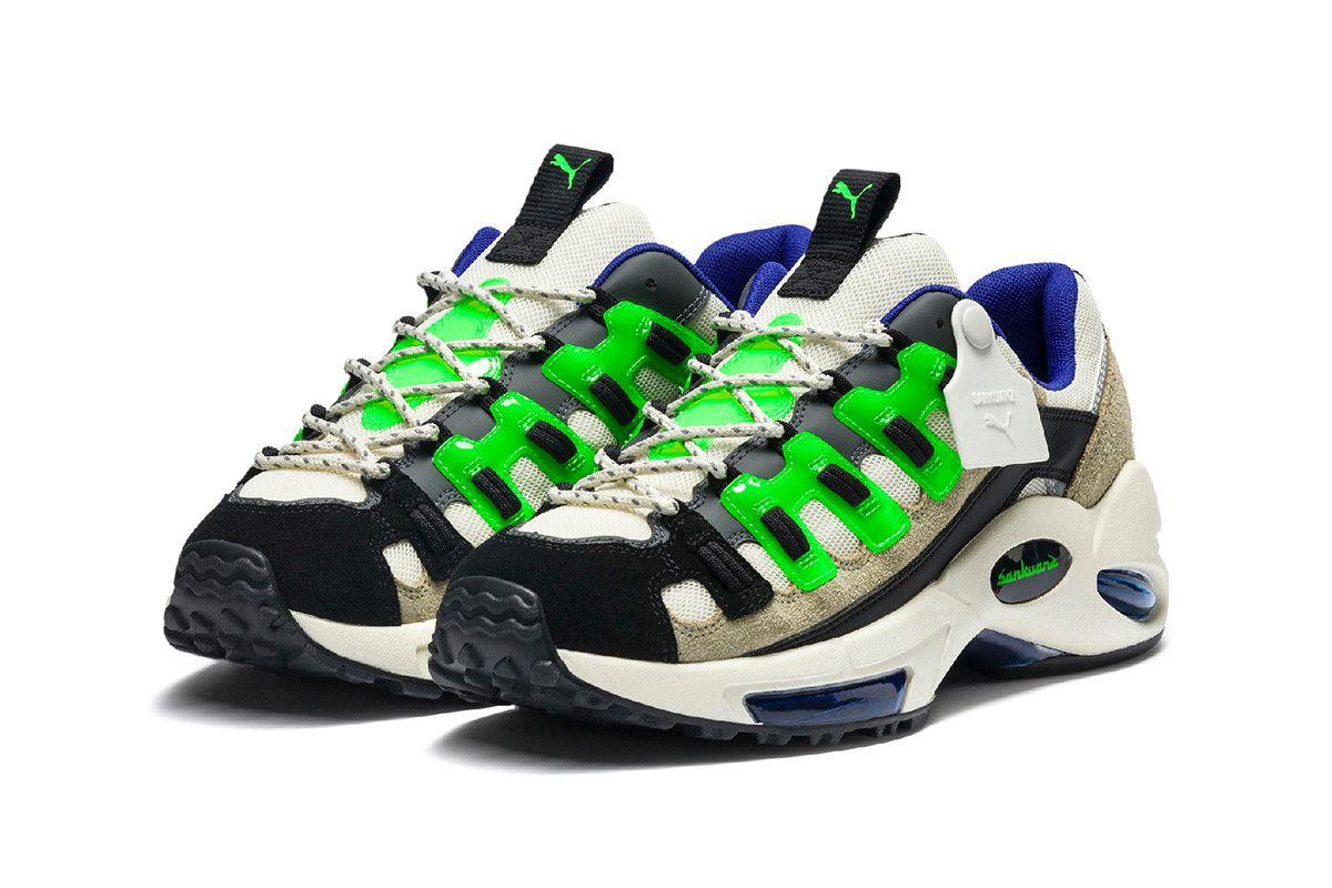 f681a95a698 PUMA x Sankuanz SS19 Sneakers Hits the Runway at London Fashion Week men's  collection 2019 rs-x cell endura california cali footwear aparel rtw ...