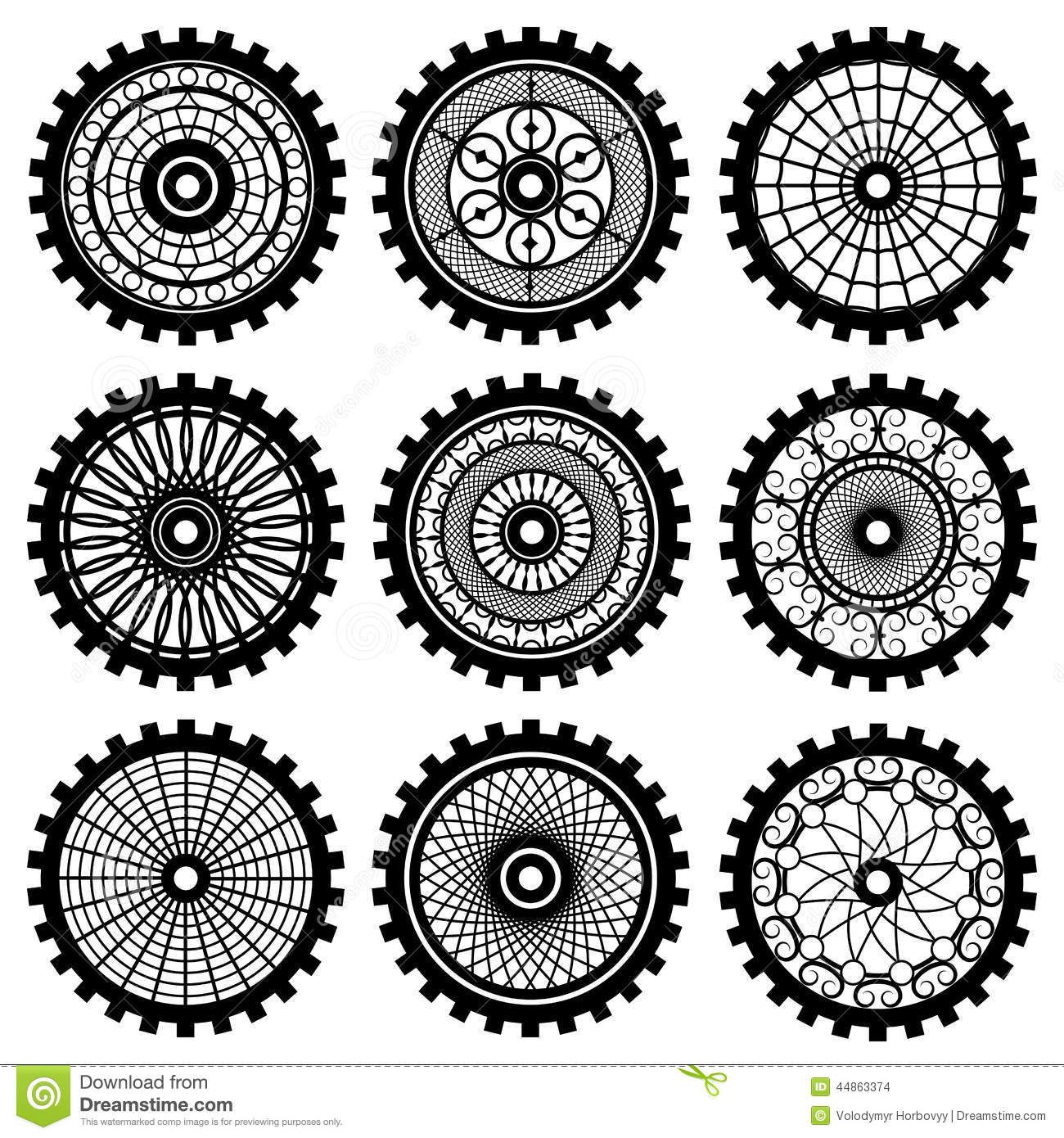 gear template Google Search Steampunk drawing, Clip