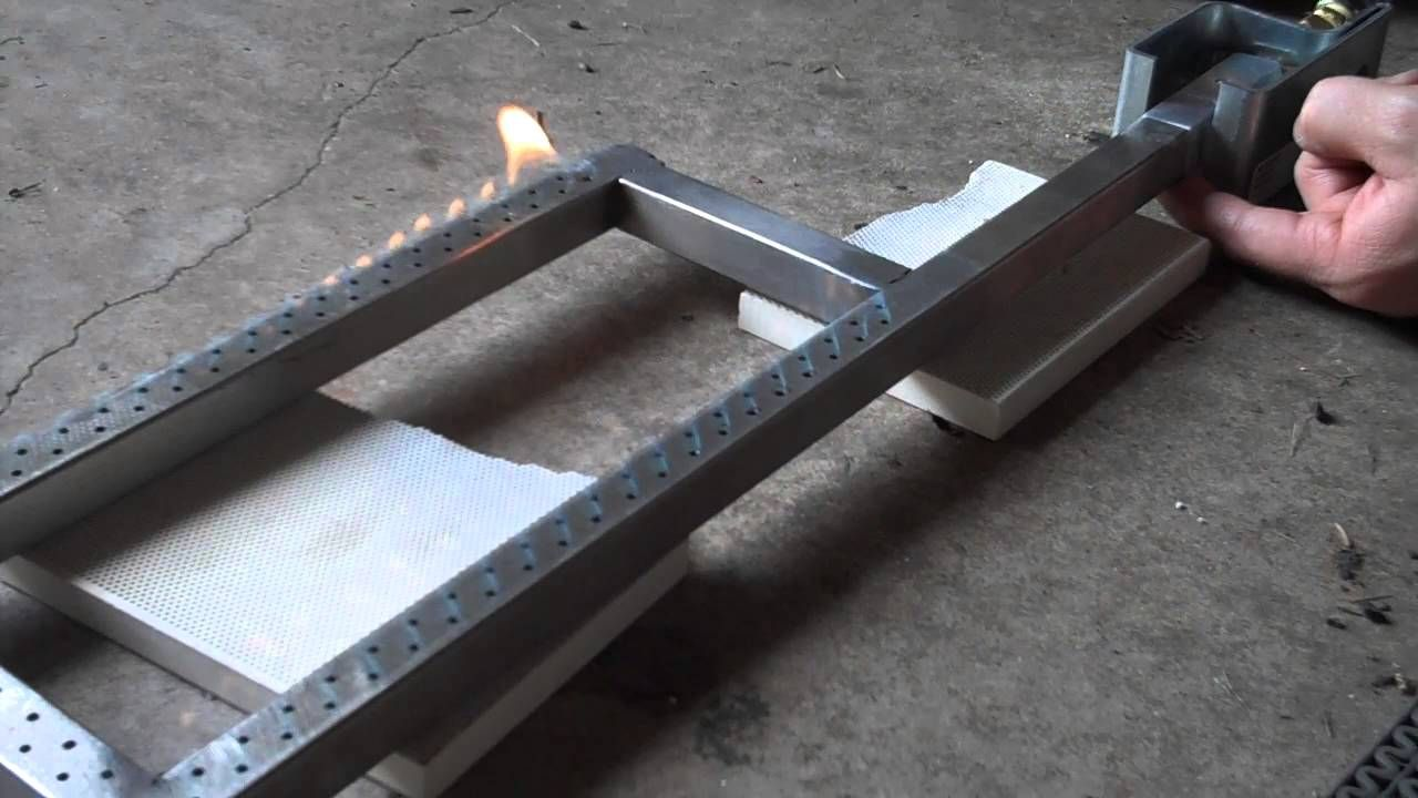 Propane Burner With Venturi Diy Fire Pit Metal
