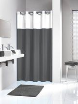 Shower Curtain Double Gray Gray Shower Curtains Hookless Shower