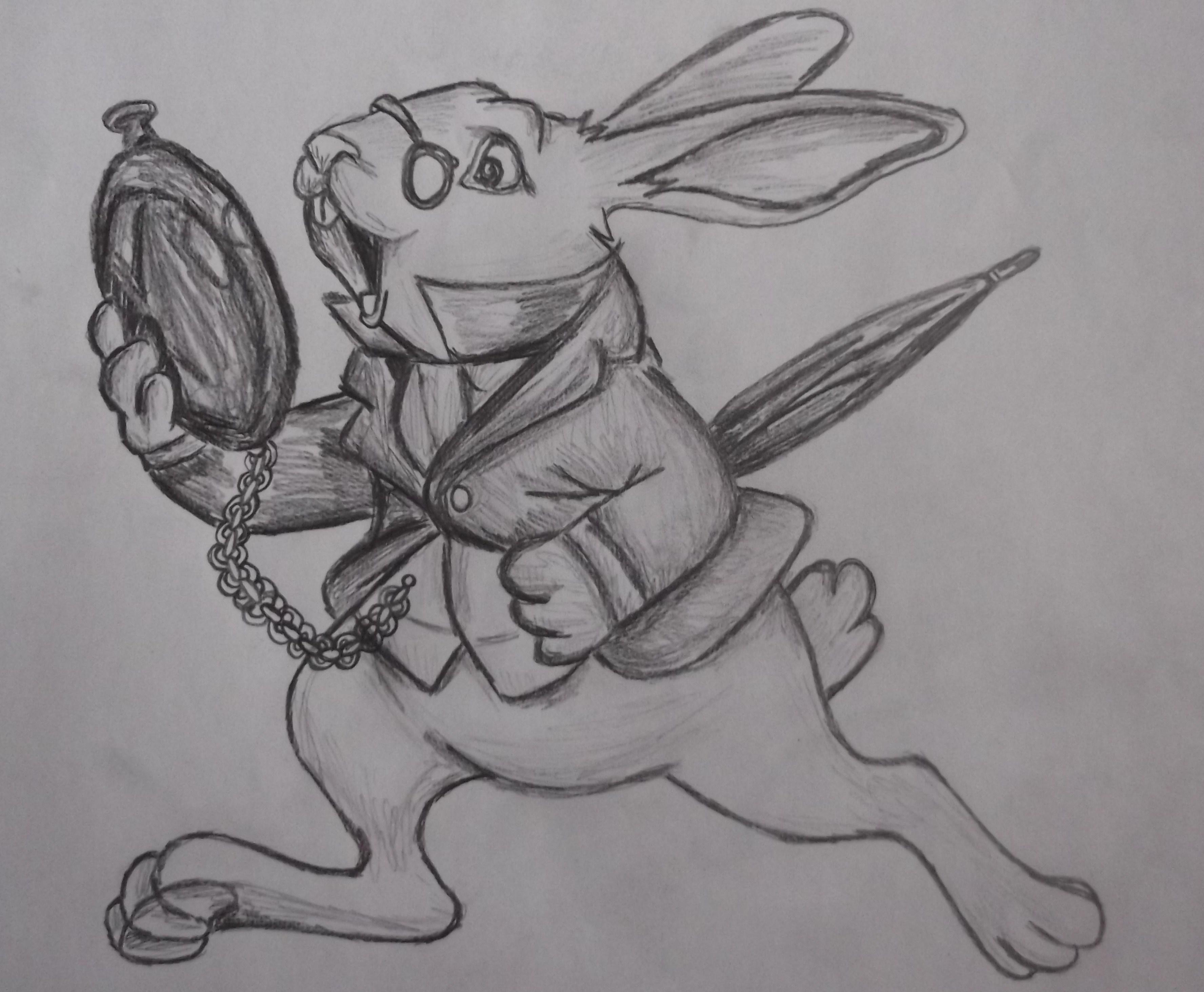 White Rabbit Tattoo  Google Search · Alice In Wonderland