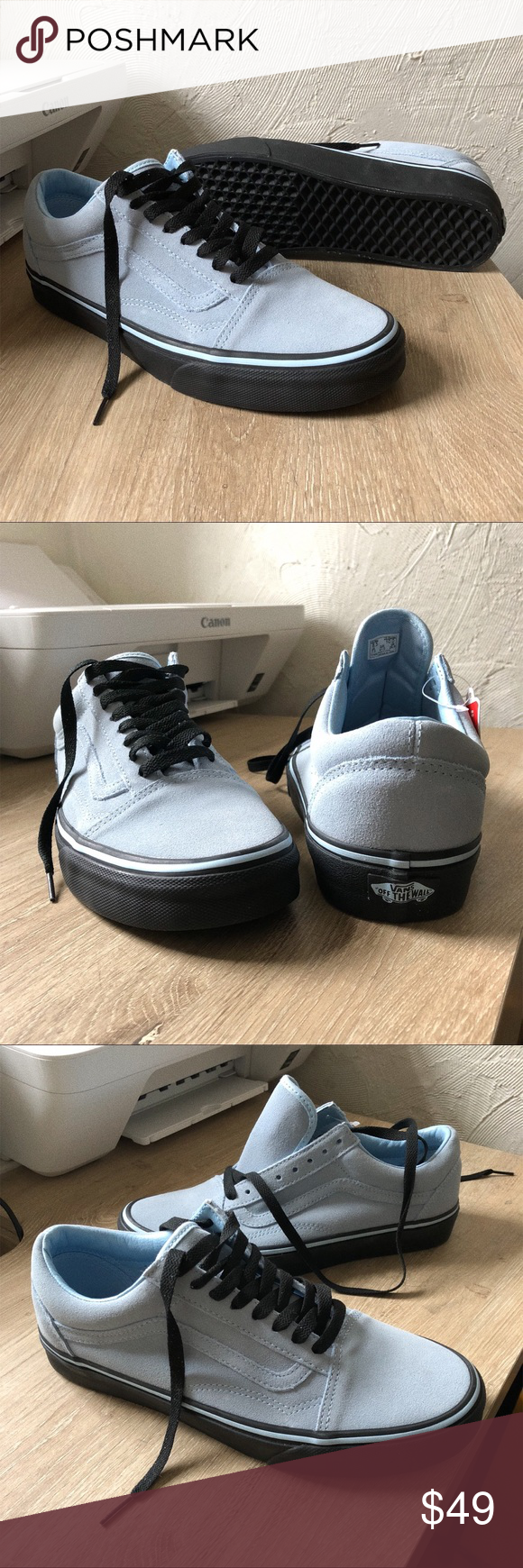 eaa46570ee6e03 Vans X UO old skool light sky blue w black sole Brand new and never worn.  Still in box. Retails for 65 . Several sizes available. Vans Shoes Athletic  Shoes