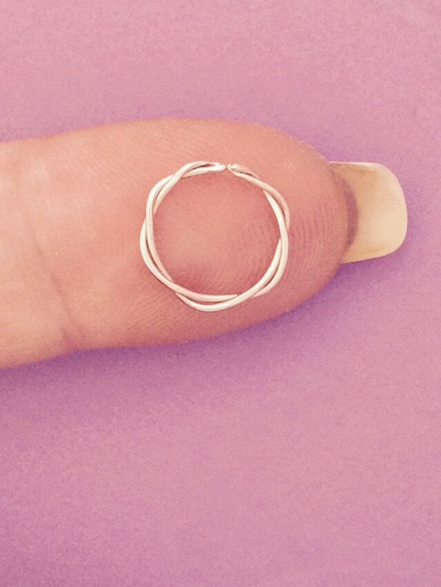 Septum Ring Nose Cartilage Ear Piercing 7 8 9 10mm Etsy Body Jewelry Shop Septum Jewelry Fake Gauge Earrings