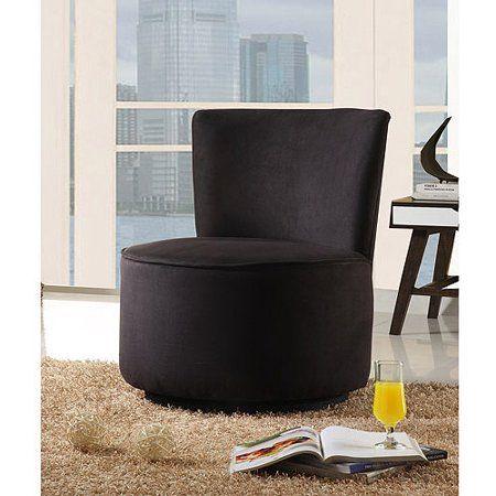 Hochwertig Runde Mikrofaser Schwenk Akzent Stuhl In Mehreren Farben   Round Swivel  Accent Chair #Stühle