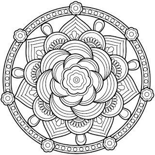 Resultats De Recherche D Images Pour Dessins Mandala Mandala Kleurplaten Kleurplaten Mandala