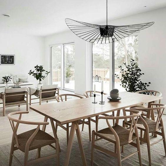 Dining Room Decor Inspirations Wood Furniture Natural Decor Inspiration Salle A Manger Meuble Salle A Manger Lustre Salle A Manger