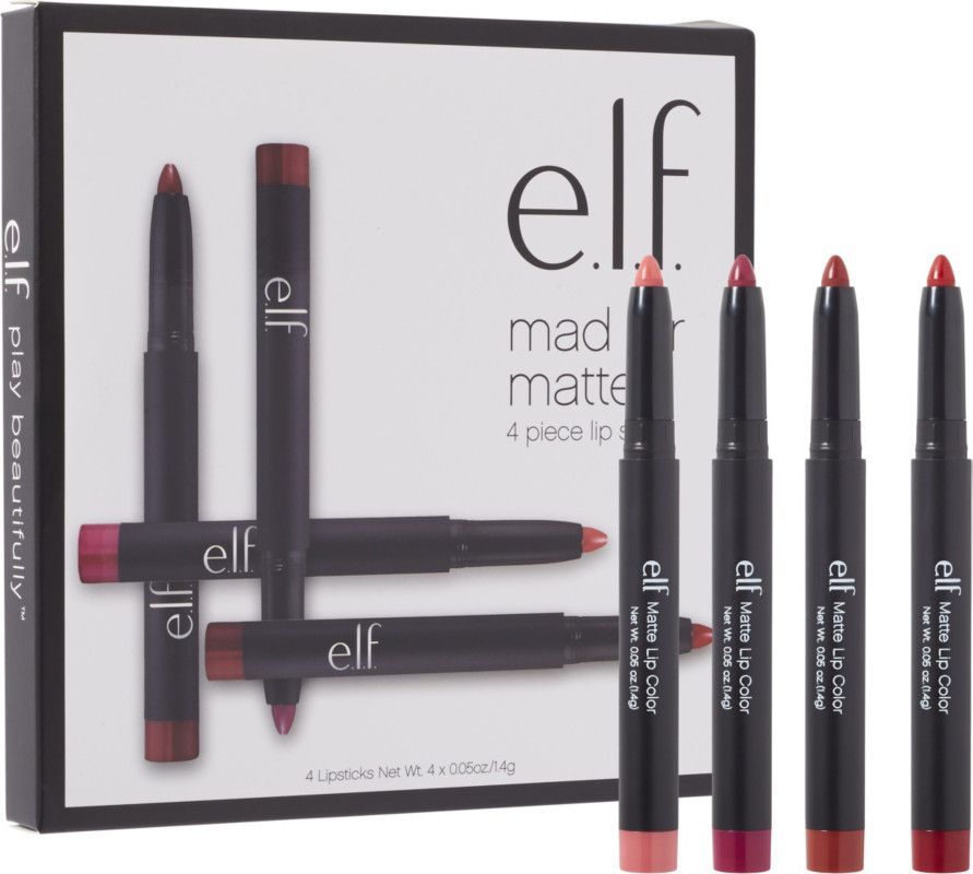 e.l.f. Cosmetics Online Only Mad for Matte Lip Color Set ...