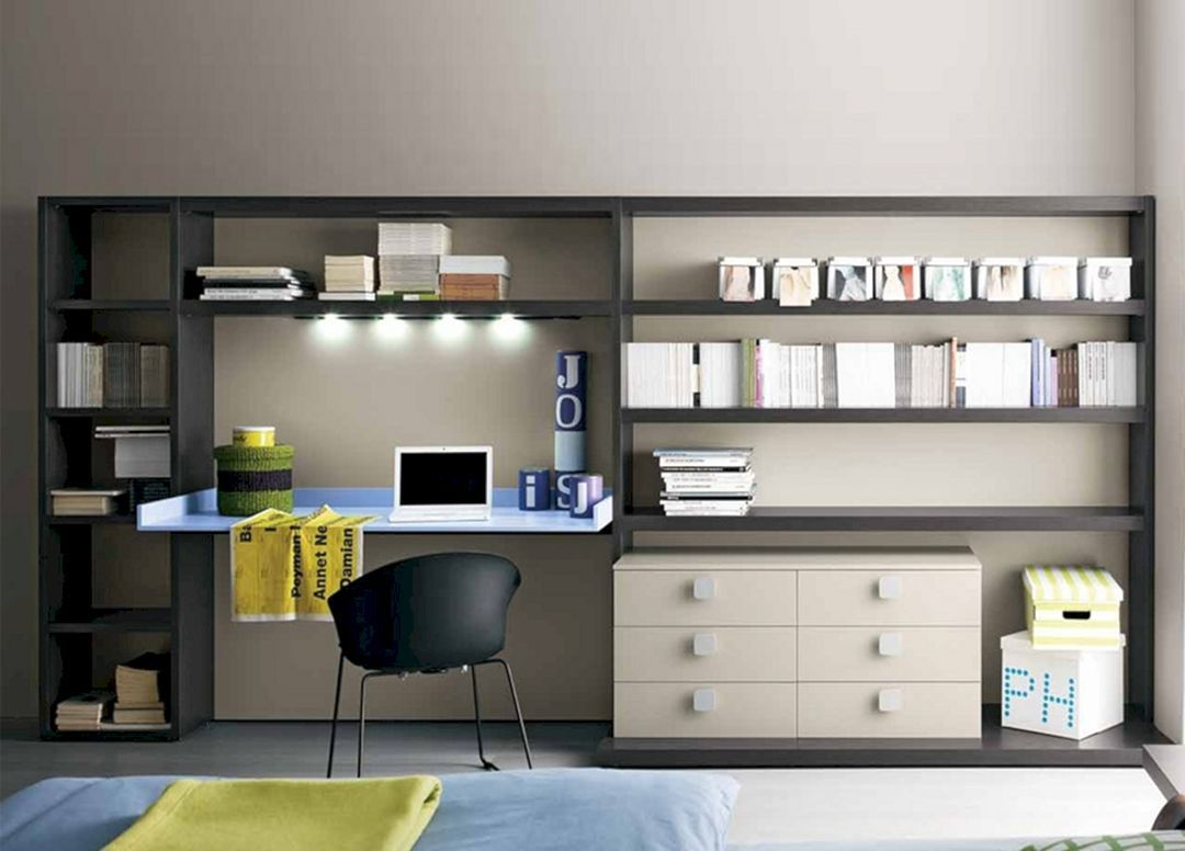 25 Marvelous Home Office Design Furniture For A Comfortable Workplace Teracee Modular Home Office Furniture Home Office Furniture Sets Modern Home Office Furniture