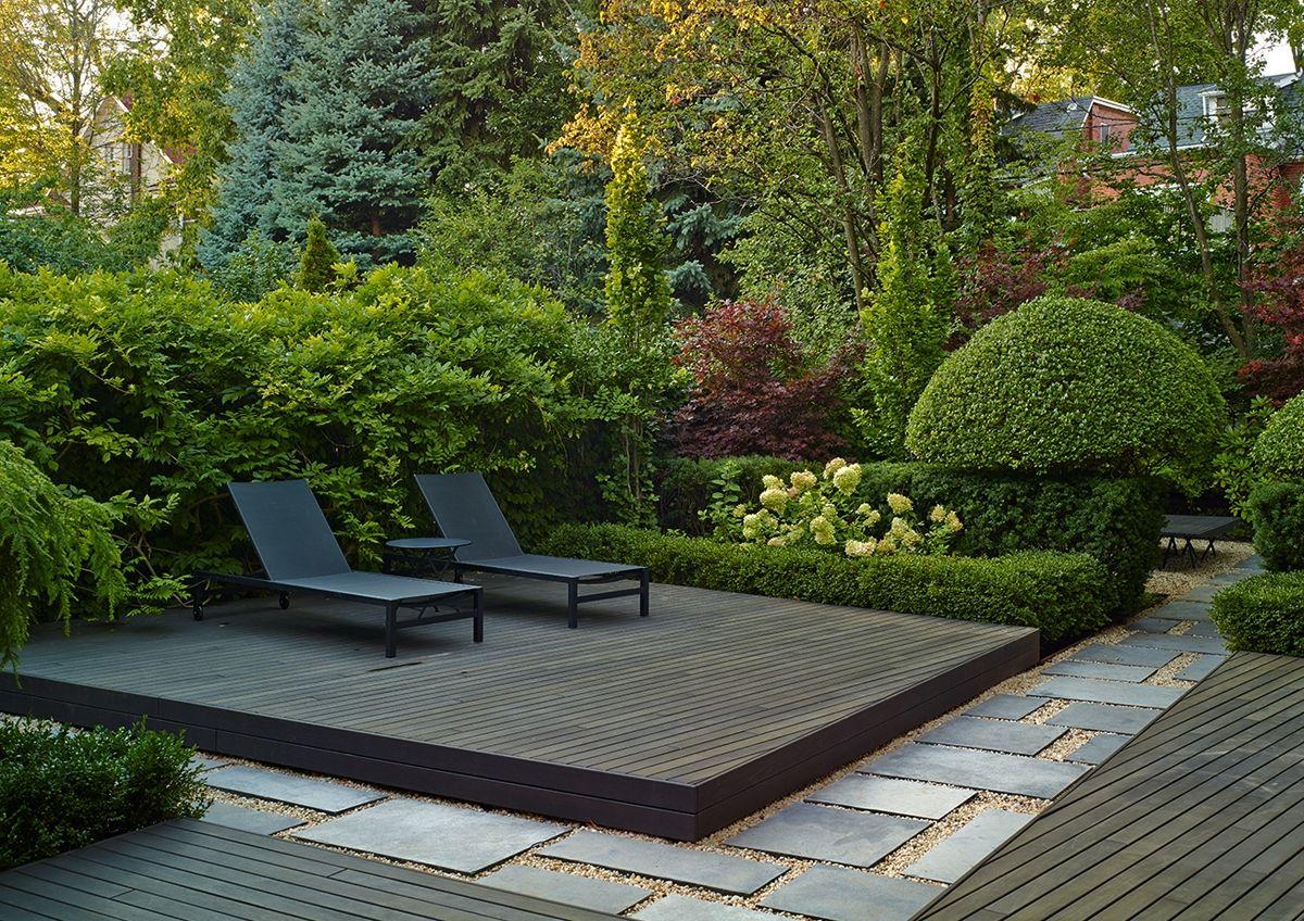 Deer Park Residence Residential Terraplan Landscape Architects Toronto Modern Landscaping Modern Garden Modern Landscape Design