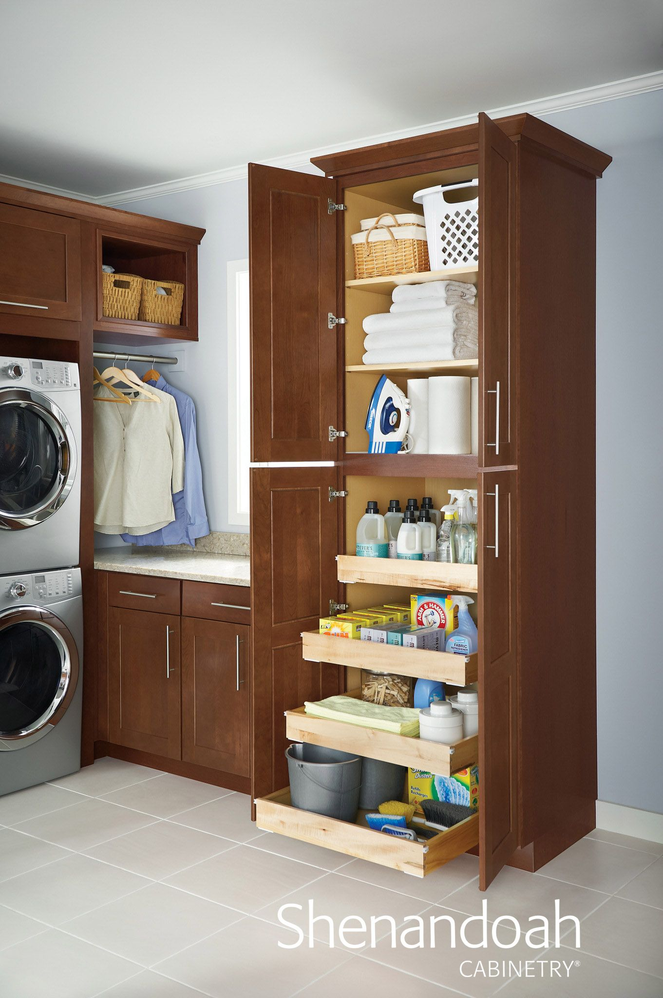 Pin By Shenandoah Cabinetry On Laundry Room Diy Laundry Room