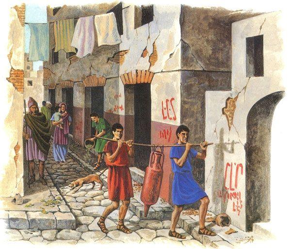 Жизнь древних римлян в картинках