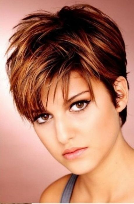 Trendige Kurzhaarfrisuren 2017 Damen Vals Pinterest Short Hair
