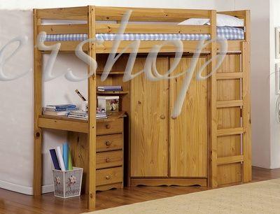 Двухьярусная деревянная кровать Alaska > Интернет магазин детских товаров