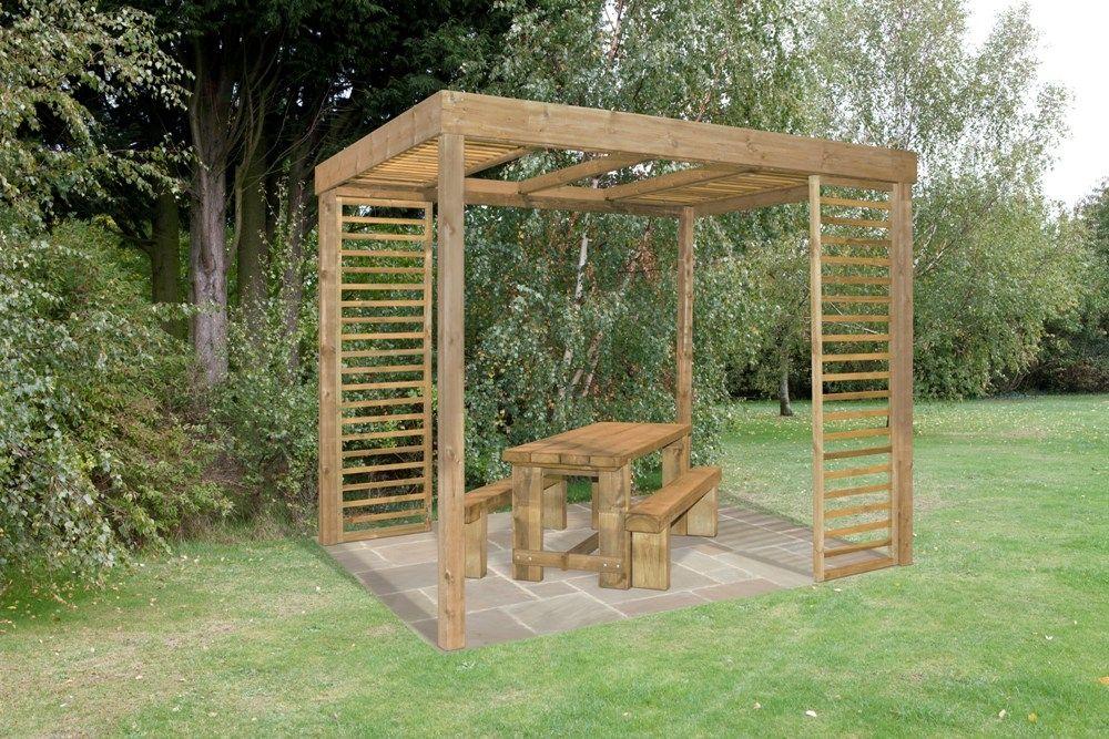 Forest 3m x 24m Dining Pergola Pergolas, Garden structures and