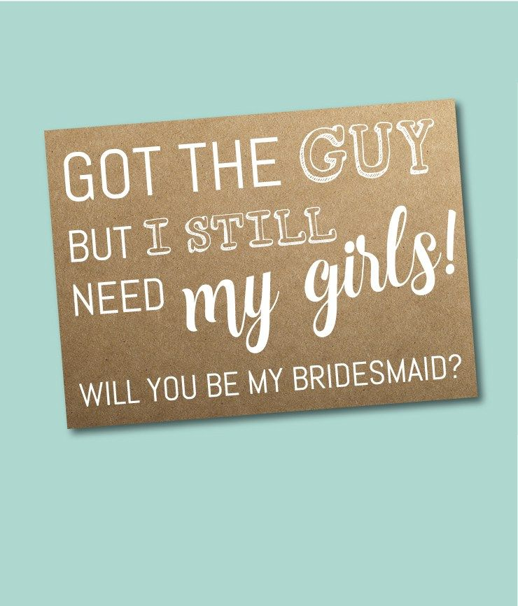 Bridesmaid Ask Ideas: 50 Phrases To Ask Your Girls To Be