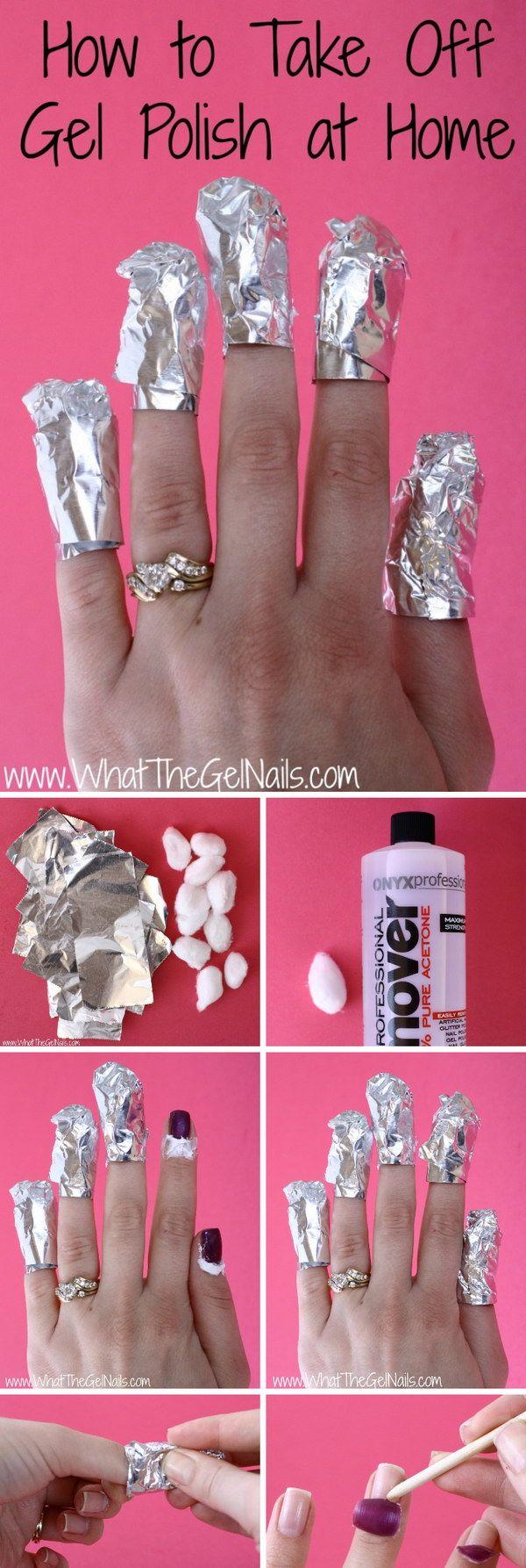 Life-saving Beauty Hacks for Girls | Gel nail polish, Makeup and ...